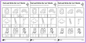 Phase 3 Worksheets - Primary Phonics Resources - Page 6