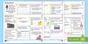 Year 5 Spring Term 2 SPaG Activity Mats - SPaG Activity Mats KS2, spag, revision, gps, independent, morning task, carousel, mr whoops, modal v