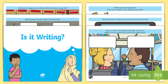 Is It Writing 2? Activity Booklet - Reluctant writers, Boy's Writing, Girl's Writing, Creative Writing Tasks, Free Writing, Anti Colou
