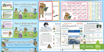 SATs Survival: Year 2 Totally Pawsome Reading Gang Bumper Resource Pack - sats, reading, greater depth, reading dogs, sat survival, tests, reading assess,ment, reading revisi