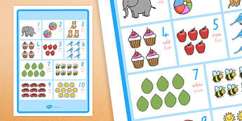 Numbers 1-10 Display Poster Te Reo Māori Translation - nz, new zealand, numbers, te reo māori, māori, language