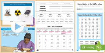 Year 4 Term 2A Week 4 Spelling Pack - Spelling Lists, Word Lists, Spring Term, List Pack, SPaG