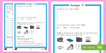 Inquiry Investigate it! Worksheet / Activity Sheet - Inquiry Cycle postersresearchingnote makingnote takinginvestigate it!plan it!