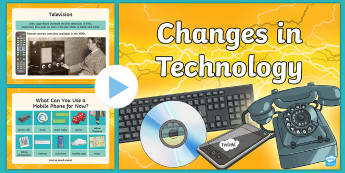 Changes in Technology PowerPoint - CfE Digital Learning Week (15th May 2017) Digital learning and teaching strategy, changes in technol