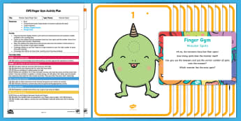 EYFS Monster Spots Finger Gym Plan and Resource Pack - Early Years, finger gym, funky fingers, Physical development, fine motor skills.