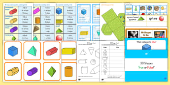 3D Shape Games - 3D shapes, games, teaching, resources - 3D Shape Games - 3D shapes, games, activities, shape, 3D
