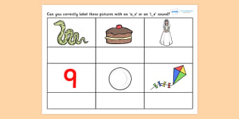 AE or IE Split Digraph Worksheet - worksheets, worksheet, work sheet, sheets, AE, IE AE and IE sounds, AE sound, IE sound, digraphs, digraph, split digraph, split digraph worksheet, literacy, spelling, sounds, sounds and letters, activity, writing fr