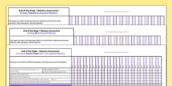 *NEW *KS1 Writing Exemplification Overview for Whole Class Spreadsheet- ks1, exemplification, overview, whole class, spreadsheet