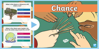 Year 1 Chance PowerPoint - Australian Curriculum Statistics and Probability,  Year 1, chance, ACMSP024, will happen, won't hap