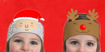Christmas Headbands - roleplay, activity, activities, festivities