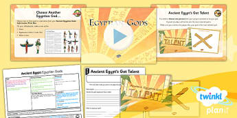 History: Ancient Egypt: Egyptian Gods LKS2 Lesson Pack 6