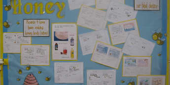 Bee Display, class display, Bees, Honey, Minibeasts, Classroom, Classroom Display, Display, Early Years (EYFS), KS1 & KS2 Primary Resources