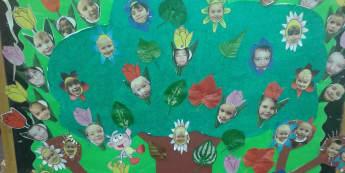 Plants Display, class display, design, Display, Plants, Tree, garden, classroom display, Early Years (EYFS), KS1 & KS2 Primary Resources