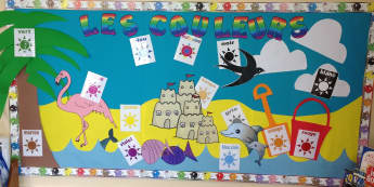 Modern Foreign Languages, The colours, Red, Brown, Green, Rainbow, Display, Classroom display, Early Years (EYFS), KS1 & KS2 Primary Teaching Resources