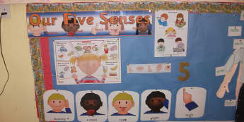 Ourselves, Our Five Senses, Hearing, Smell, Taste, Sight, Touch, Senses, Look, Classroom Display, Early Years (EYFS), KS1 & KS2 Primary Teaching Resources
