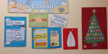 Modern Foreign Languages, Calendar, Days to Christmas, December, Days, Display, Classroom Display, Early Years (EYFS), KS1 & KS2 Primary Teaching Resources
