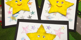 Modern Foreign Languages, Stars, Smile, Smiling Stars, Play Mat, Star, Display, Classroom Display, Early Years (EYFS), KS1 & KS2 Primary Teaching Resources