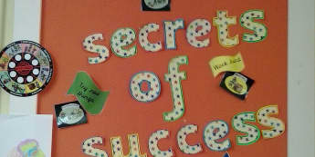 Ourselves, Secrets of Success, Imagine, Work hard, Try new Things, Display, Classroom Display, Early Years (EYFS), KS1 & KS2 Primary Teaching Resources