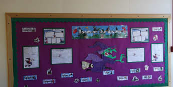 Stories & Tales, Room on the Broom, Stories, Books, Literacy, Reading, Display, Classroom Display, Early Years (EYFS), KS1 & KS2 Primary Teaching Resources