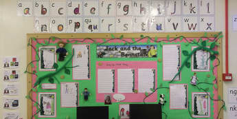 Stories & Tales, Jack and the Beanstalk, Books, Literacy, Reading, Display, Classroom Display, Early Years (EYFS), KS1 & KS2 Primary Teaching Resources