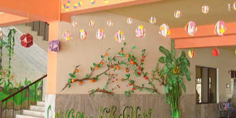 river scence Display, classroom display, class display, garden, plants, growing, river, tree, fish, fruit, Early Years (EYFS), KS1 & KS2 Primary Resources