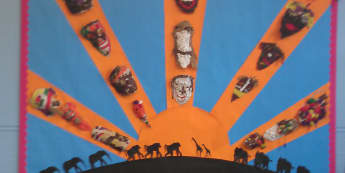 Africa Display, Classroom Display, class display, Africa, country, tribe, tribal mask, flag, culture, Early Years (EYFS), KS1 & KS2 Primary Resources