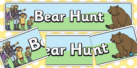 preview of Bear Hunt Display Banner