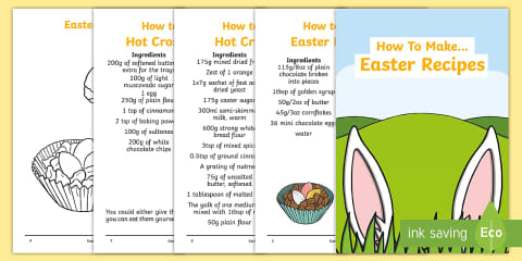 preview of Easter Recipe Booklet