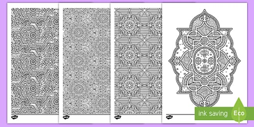 Eid Al-Adha Colouring Pages - Mindfulness Colouring