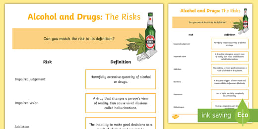 113 Top Alcohol Teaching Resources
