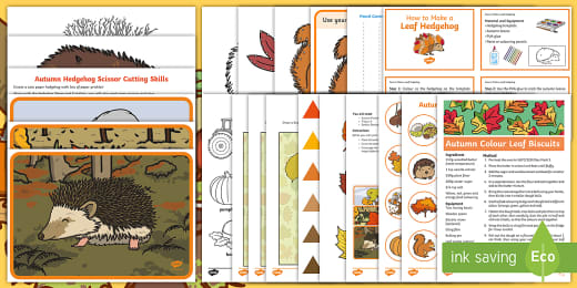 Autumn Ideas For Classroom Art And Craft Activity Pack