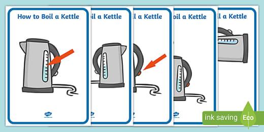 Boil a Kettle Sequencing (teacher