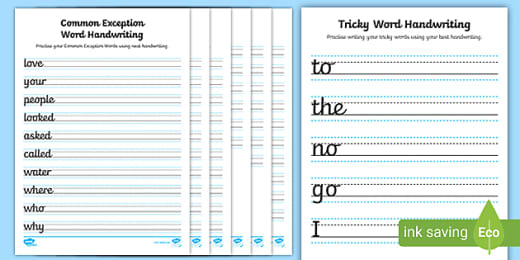 FREE! - Phase 3 Sentence Handwriting Activities EYFS Sheets