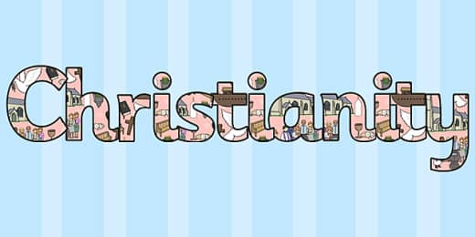Christian Signs and Symbols Word Cards (teacher made)