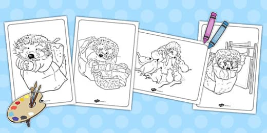 Beatrix Potter Coloring Pages Teacher Made