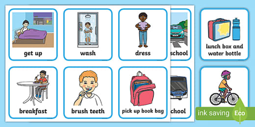 Weather Kids: An Example of a Structured Work System Task | Autism  Classroom Resources
