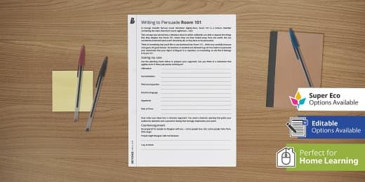 Aforest Writing Techniques Gcse Pack Secondary Resources