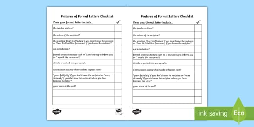 Formal Letter Writing Pack Ks2 Primary Resources