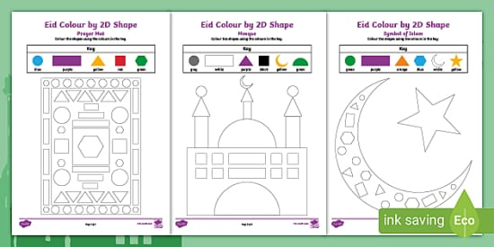 Free Eid Coloring Sheets Eid Coloring Eid Coloring Coloring Sheets Eid