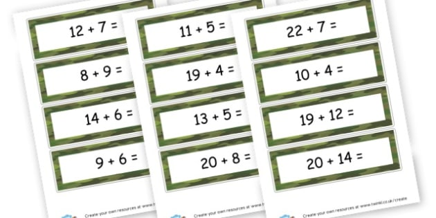 Simple Addition up to 30 - Addition Worksheets Primary Resources - Add, Plus, More, Adding