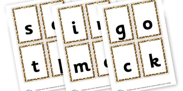 Phase 2 Flashcards - Phase 2 Visual Aids Primary Resources, Phase One, Letters, sounds