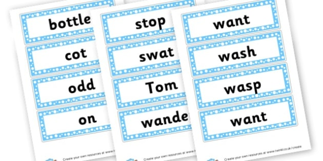 o Extended Code Word Cards - Words & Vocab Primary Resources, literacy, keywords, cvc, phonemes