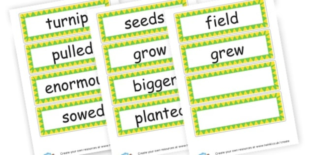 Enormous turnip - working wall words - Enormous Turnip Primary Resources - Traditional Tales, tale, story