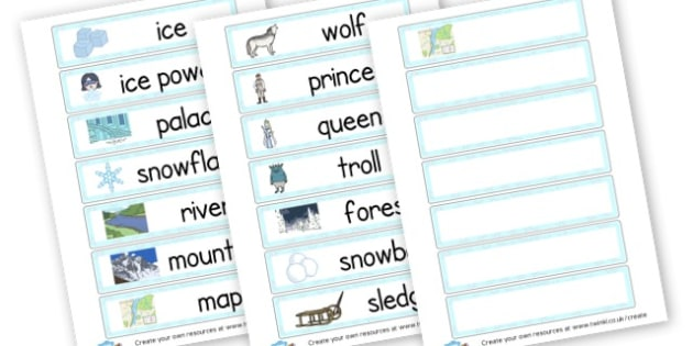 Ice Story - Winter Literacy Primary Resources, winter snow, snowman, education