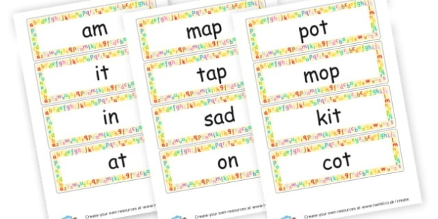 Phase 2 Word cards - Phase 2 Visual Aids Primary Resources, Phase One, Letters, sounds