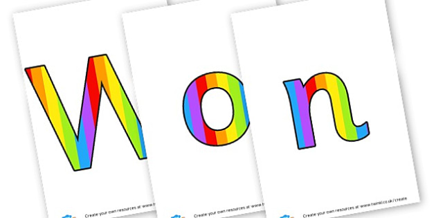 Wonder Wall - display lettering - Display Lettering Primary Resources, cut out, letters, display