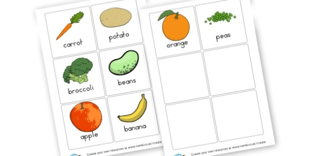 Food Cards - Food, Drink and Eating Literacy Primary Resources - Food & Drink