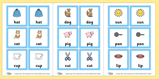 CVC Snap Cards - CVC Words Activities and Games Primary Resources -  Primary Resou