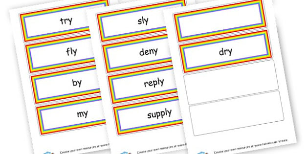 y as igh Cards - Sound Families Primary Resources, sound, sounds, sound family