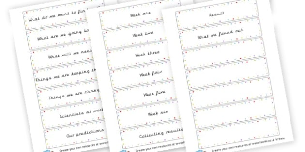 Plant Experiment Cards - Plants - 2014 National Curriculum, Year 2, Science, Plants, 2014, New